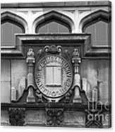 Illinois Wesleyan University Seal Canvas Print