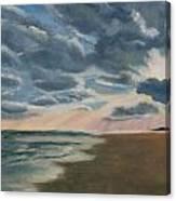 Illuminated Clouds Canvas Print