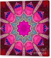 Illuminated Rose Canvas Print