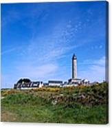 Ils De Batz Lighthouse Canvas Print