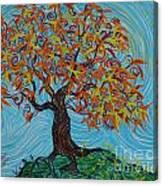 I'm A Happy Tree Canvas Print