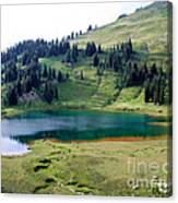 Image Lake  Canvas Print