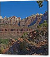 Image Of Zion 02 Canvas Print