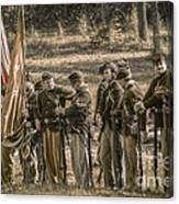 Images Of The Civil War Union Soldiers Canvas Print