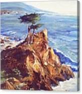 Imaginary Cypress Canvas Print