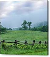 Imaginary Morning On The Blue Ridge I Canvas Print