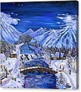 Immanuels Crossing Canvas Print
