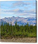 Imminent Riverbed Canvas Print