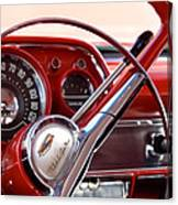 Red Belair With Dice Canvas Print