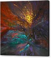 Impatiens Explosion Canvas Print