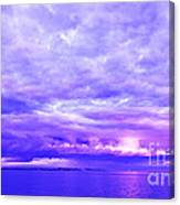 Impending Weather Canvas Print