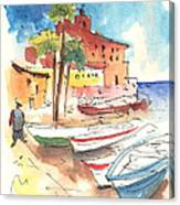 Imperia In Italy 01 Canvas Print