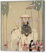 Imperial Procession Canvas Print