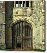 Imposing Front Door Of Titchfield Abbey Canvas Print