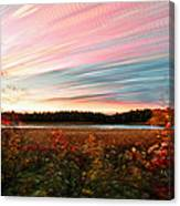 Impressionistic Autumn Canvas Print