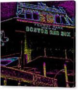 Impressionistic Fenway Park Canvas Print
