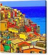 Impressionistic Photo Paint Gs 008 Canvas Print