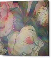 Impressionistic Spring Bouquet Canvas Print
