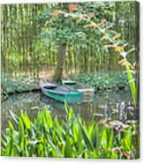 Impressions Of Monet Canvas Print