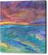 Impressions Of The Sea 1 Canvas Print