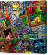 Impressions Canvas Print
