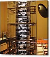 Impressive Wine Rack Canvas Print