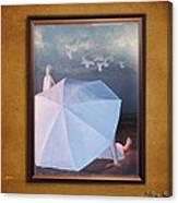 In A Scene In A Dream That's So Far Away Canvas Print