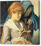 In Church Canvas Print