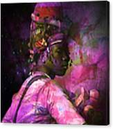In Full Dress - Turkish Soldier Bashibazouk - Featured In The Abc -f- Feminine Group Canvas Print