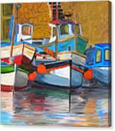 In Harbor Canvas Print