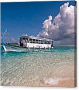 In Harmony With Nature. Maldives Canvas Print