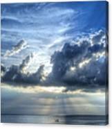 In Heaven's Light - Beach Ocean Art By Sharon Cummings Canvas Print