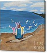 In Meditation Canvas Print