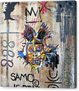 In Memory Basquiat Canvas Print
