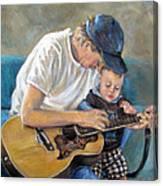 In Memory Of Baby Jordan Canvas Print