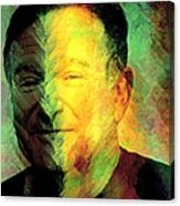 In Memory Of Robin Williams Canvas Print
