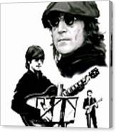 In My Life  John Lennon Canvas Print