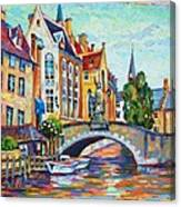 In Old Europe Canvas Print