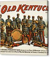 In Old Kentucky Canvas Print