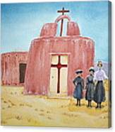 In Old New Mexico II Canvas Print