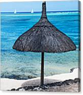 In Perfect Balance. Beach Life Canvas Print