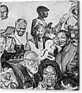 In Praise Of Jazz V Canvas Print