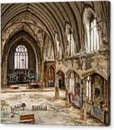 Faith In Ruins Canvas Print