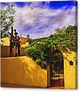 In Santa Fe - New Mexico Canvas Print