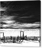 In The Bleak Midwinter Canvas Print