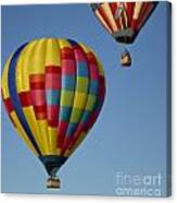 In The Clear Blue Skies Canvas Print