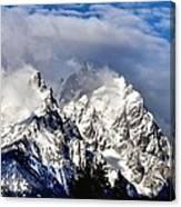 The Teton Range Canvas Print