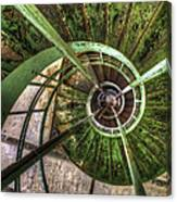 In The Eye Of The Spiral  Canvas Print
