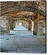 In The Fort Arches Canvas Print