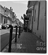 In The French Quarter Canvas Print